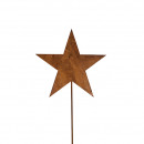 Metal connector star, height 120cm, rod length 100